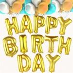 Воздушные Шары Буквы Happy Birthday