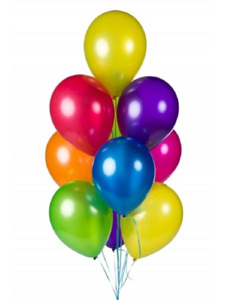 10 шт воздушных шаров ассорти