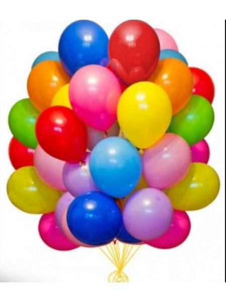 20 шт воздушных шаров ассорти