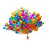 100 шт воздушных шаров
