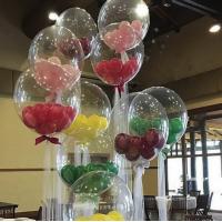 Баблз прозрачный с шариками 46 см