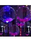 Прозрачные шары Баблз со светодиодной нитью