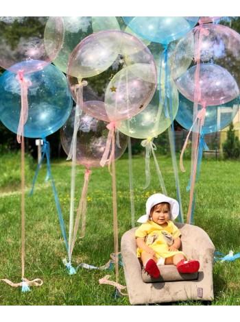 Гелиевые шары Баблс Кристалл