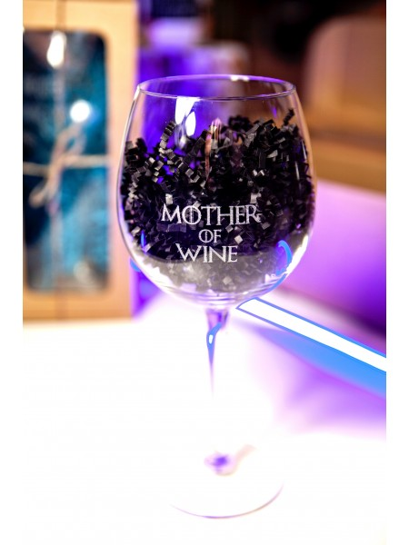 "Бокал винный ""MOTHER OF WINE"" 590 мл № 130"