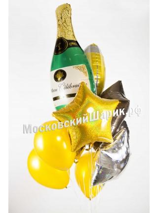 """Букет """"Шампанское"""""""