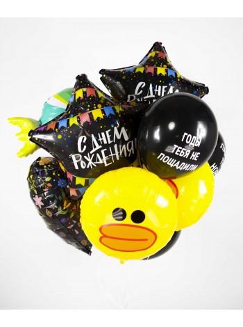 Букет шариков с уточками