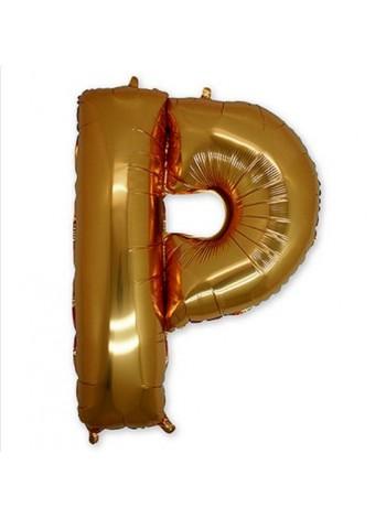"Буква Р  Gold 40"" - 101 см"
