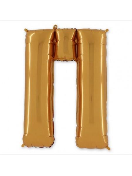 "Буква П Gold 40"" - 101 см"