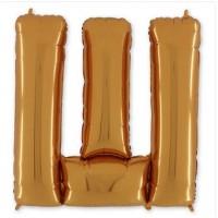 "Буква Ш Gold 40"" - 101 см"