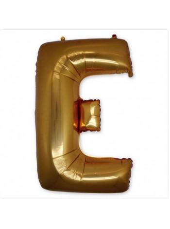 """Буква Е  Gold 40"""" - 101 см"""