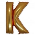 "Буква К  Gold 40"" - 101 см"