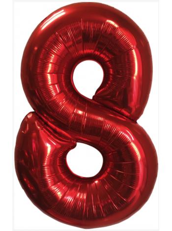 Красная Цифра 8