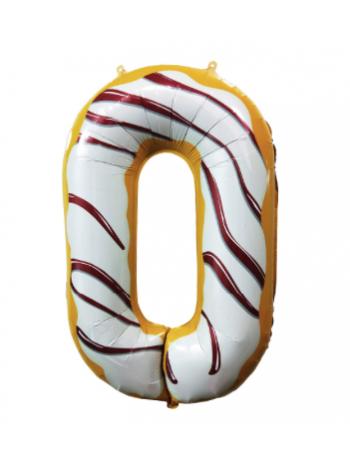 Шар цифра пончик ноль