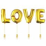 Фольгированные Шары Буквы Love
