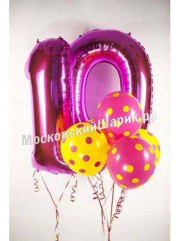 Набор шаров на День Рождения Ребенку