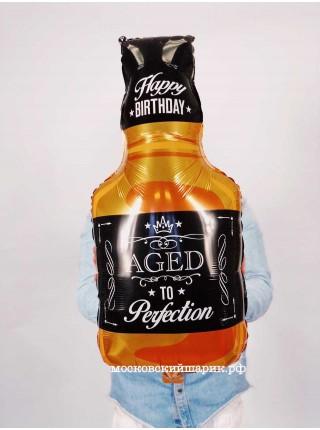 Шар бутылка Виски с гелием