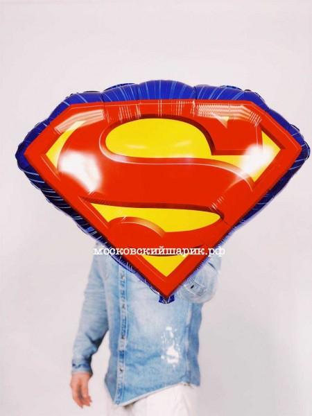 """Шарик """"Супермен"""" с гелием"""