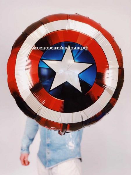 Шар Капитан Америка с гелием
