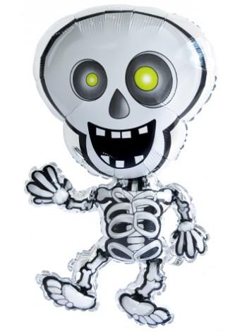 Фольгированный шарик фигура Танцующий скелет