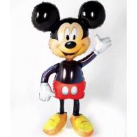Ходячая фигура Микки с гелием