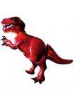 Ходячий воздушный шар красный Динозавр