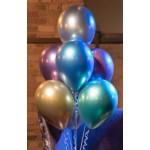 Хромированные воздушные шары