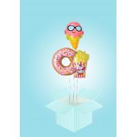 Коробка-сюрприз Пончик и Попкорн