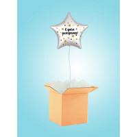 Коробка сюрприз с Звездой с ДР