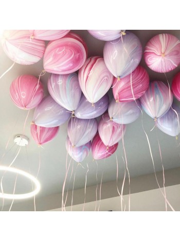 Мраморные шары под потолок