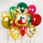 Набор воздушных шаров с гелием