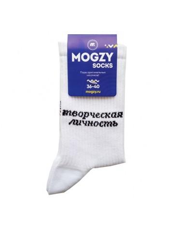 """Модные носки принтом """"Творческая личность"""""""