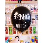 """Оскорбительные шарики """" ВЕЧЕРИНКА ОТСТОЙ """" № 2"""