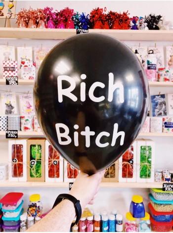 Черные Шарики с матом Rich Bic*