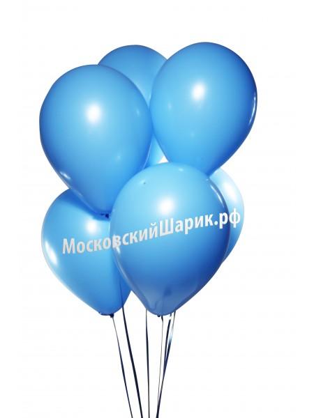 Голубые Пастель 35 см