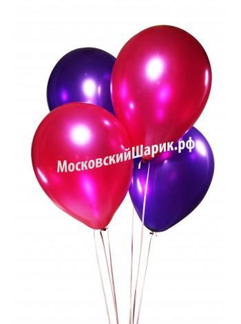 Под Потолок Металлик Фиолетовые-Фукси 35 см