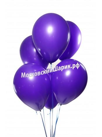 Шары Фиолетовые Пастель 35 см