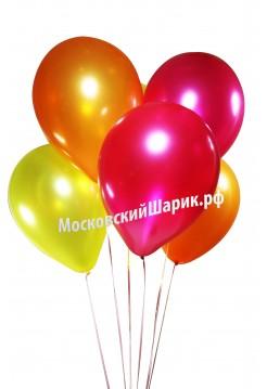 Под Потолок Металлик Фукси-Оранжевые-Желтые 35 см