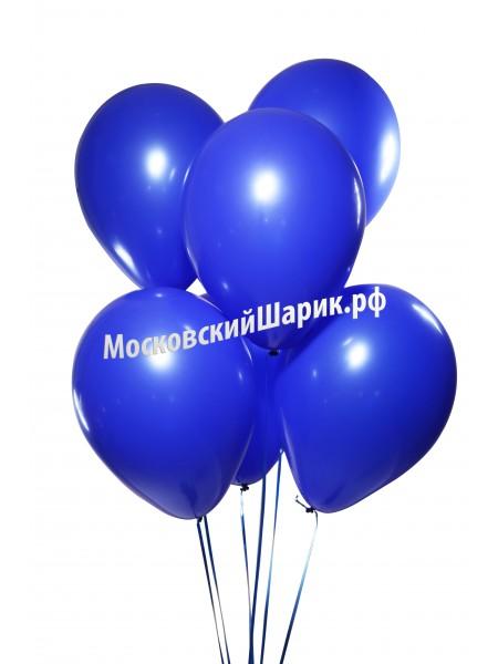 Шары Синие Пастель 35 см