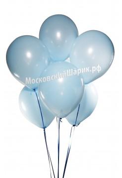 Светло-Голубые Пастель 35 см