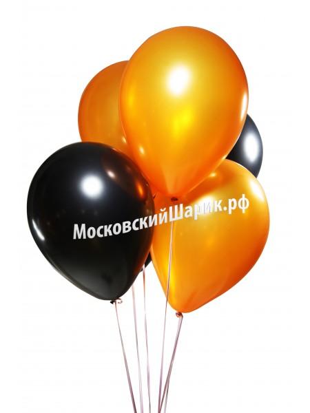 Оранжево-черные пастель 1шт