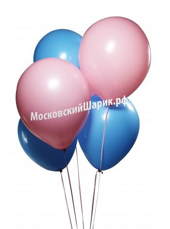 Розово-Голубые Пастель 35 см