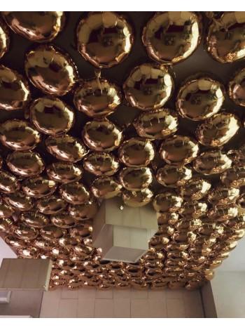 Шары круги с гелием под потолок