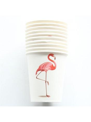 """Бумажные стаканы """"Фламинго"""""""