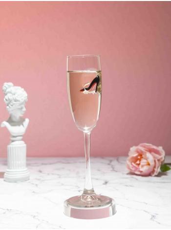 Бокал под шампанское с лабутеном