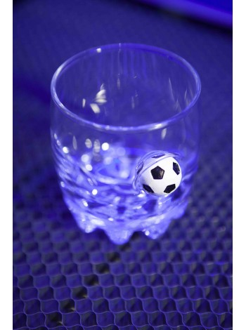 Стакан для виски с мячом