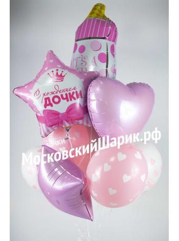 Букет из шаров на Рождение № 2