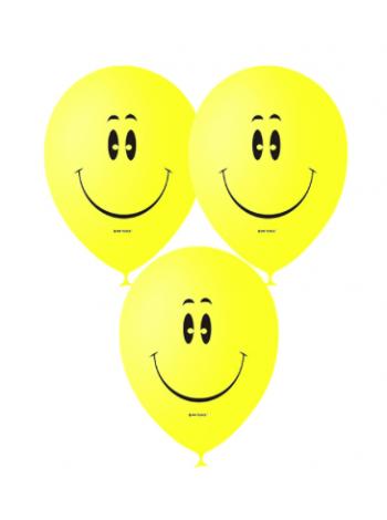 Воздушные шарики смайлы YELLOW