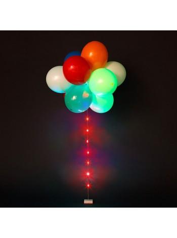 Светящиеся воздушные шарики с гелием