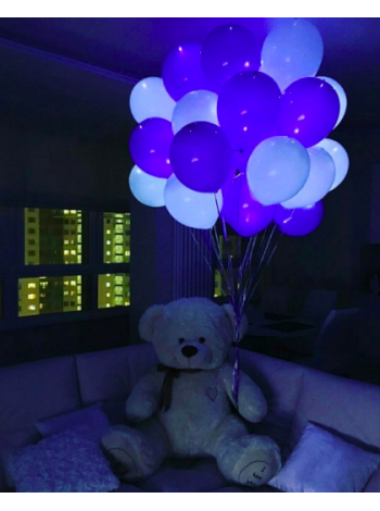 Светящиеся воздушные шарики