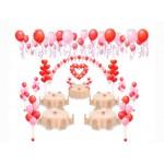 Арка из воздушных шаров на Свадьбу